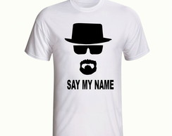 Camisa Heisenberg Breaking Bad Série