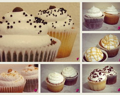 Cupcakes simples com marshmallow