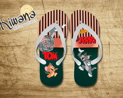 Chinelo Personalizado Tom e Jerry