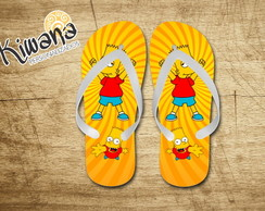Chinelo Personalizado Bart simpsons