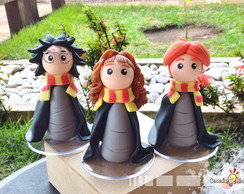 O trio chibi - Harry Potter