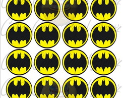 Batman logo papel de arroz 4,5 cm