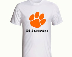 Camisa Ed Sheeran Cantor Pop Rock Banda