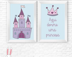 Kit Duo princesa (Arte Digital)