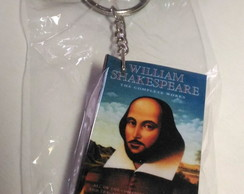 "Chaveiro Geek 12: ""William Shakespeare"""