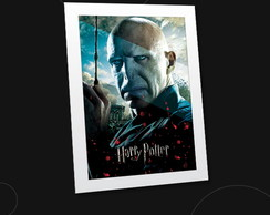 Quadro com poster do Lord Voldemort
