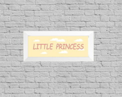 Quadro infantil little princess