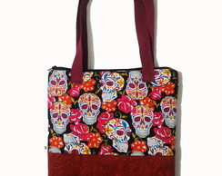 Tote bag Candy Skull