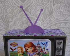 Tv 3D Princesa Sofia Porta Doces