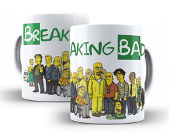 Caneca Breaking Bad Simpsons