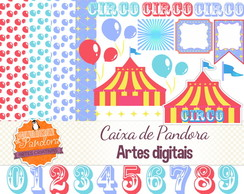 Kit Scrapbook Digital - Circo