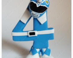 Vela Power Ranger Mighty Morphin Blue