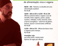 Layout para flyer virtual