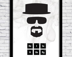 Quadro Breaking Bad A4