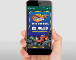 Save the date Blaze and the Monster Machines