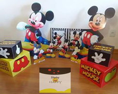 Kit Mickey Completo - mdf