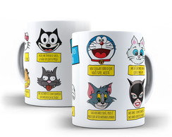 Caneca Mandamentos do Gato