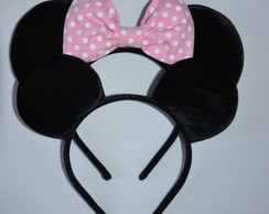 *Kit 2 Orelhas luxo Minnie Michey