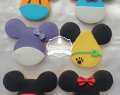 Biscoito decorado - Turma do mickey