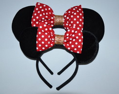 Kit 2 orelhas Minnie Luxo