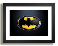 Quadro Batman Filme Heroi Decorativo F35
