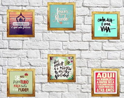 Quadro rustico frases, frases,