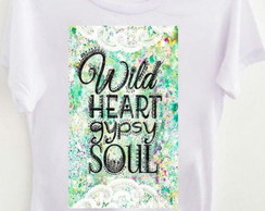 T-shirt Wild Heart Gipsy soul color