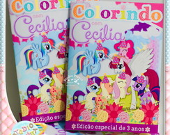 Revista de colorir My Little Pony