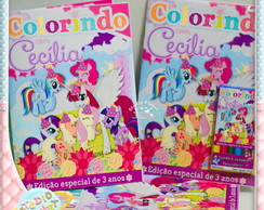 Kit de colorir My Little Pony