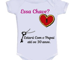 Body Divertido - Chave Com O Papai