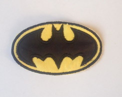 Aplique Bordados Termocolante Batman