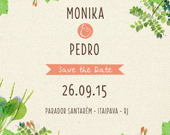 Save the Date - Casamento