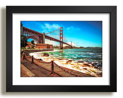 Quadro Ponte Golden Gate San Francisco Nova York Decoracao