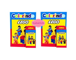 kit colorindo lego