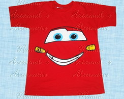 Camiseta divertida Carros Mcqueen