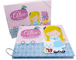 Álbum Com Caixa Alice Cute