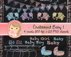 CHALKBOARD BABY 1 (Kit digital)
