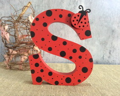 Letras Decorativas Lady Bug -Miraculous