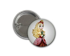 Botton Ever After High Apple White-2,5cm