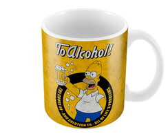 CANECA SIMPSONS TO ALCOHOL