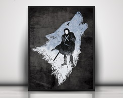 Poster Stark - Game Of Thrones