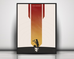 Poster Lannister - Game Of Thrones