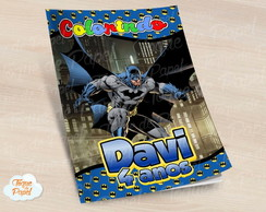 Revista colorir Batman