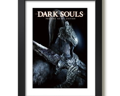 Quadro Dark Souls Game Serie Decorativo