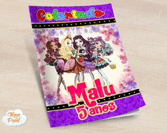 Revista colorir ever after high