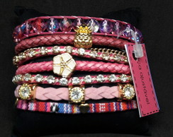 Bracelete ouro Barbie Girl