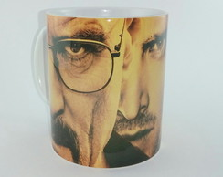 Canecas De Porcelana 325ml Breaking Bad