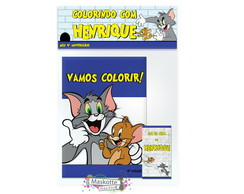 Kit Colorir Tom E Jerry