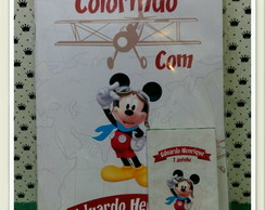 Revista colorir mickey aviador