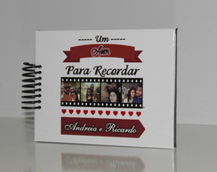 Álbum fotos Mini Scrapbook Personalizado